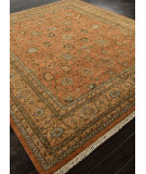 RugStudio presents Addison And Banks Hand Knotted Abr1486 Red Orange Hand-Knotted, Good Quality Area Rug