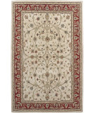 RugStudio presents Amer Cardinal Pius Ivory Red Hand-Tufted, Better Quality Area Rug