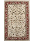 RugStudio presents Amer Cardinal Pius Ivory / Red Hand-Tufted, Good Quality Area Rug