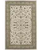 RugStudio presents Amer Cardinal Pius Ivory Seafoam Hand-Tufted, Better Quality Area Rug