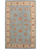 RugStudio presents Amer Cardinal Clement Light Blue Hand-Tufted, Better Quality Area Rug