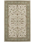 RugStudio presents Amer Cardinal Pius Ivory / Seafoam Hand-Tufted, Good Quality Area Rug