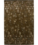 RugStudio presents Amer Gardenia Capucine Brown Hand-Tufted, Good Quality Area Rug