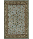 RugStudio presents Amer Mosaic Santa Cecilia Blue / Beige Hand-Tufted, Good Quality Area Rug