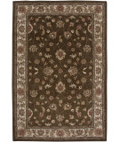 RugStudio presents Amer Mosaic Santa Balbina Brown / Beige Hand-Tufted, Good Quality Area Rug
