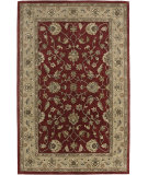 RugStudio presents Amer Mosaic San Vitali Brick Red / Beige Hand-Tufted, Good Quality Area Rug