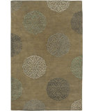 RugStudio presents Amer Soho Mercer Olive Green Hand-Tufted, Better Quality Area Rug