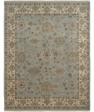 RugStudio presents Amer Luxor Fateh Moss Hand-Knotted, Good Quality Area Rug