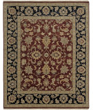 RugStudio presents Amer Luxor Manzala Red Hand-Knotted, Good Quality Area Rug