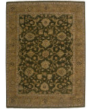 RugStudio presents Amer Artisan Sisante Khaki Green/ Light Brown Hand-Knotted, Best Quality Area Rug