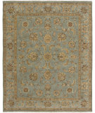 RugStudio presents Amer Artisan Elche Ice Blue Hand-Knotted, Best Quality Area Rug