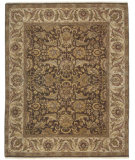 RugStudio presents Amer Dimora Manchester Chocolate / Cream Hand-Knotted, Good Quality Area Rug