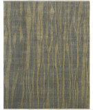 RugStudio presents Rugstudio Sample Sale 67555R French Blue Hand-Knotted, Good Quality Area Rug