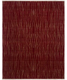 RugStudio presents Amer Kinara Kibashi Red Hand-Knotted, Good Quality Area Rug