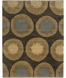 RugStudio presents Amer Kinara Enchi Chocolate Hand-Knotted, Good Quality Area Rug