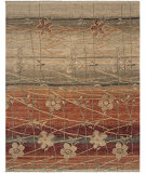 RugStudio presents Amer Kinara Azumaya Rust Hand-Knotted, Good Quality Area Rug