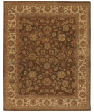 RugStudio presents Amer Antiquity Salona Brown / Beige Hand-Knotted, Good Quality Area Rug