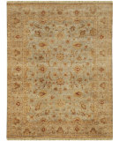 RugStudio presents Rugstudio Sample Sale 73775R Gray / Beige Hand-Knotted, Good Quality Area Rug