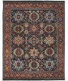 RugStudio presents Amer Antiquity Fc-33 Navy Hand-Knotted, Good Quality Area Rug