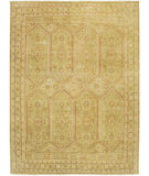 RugStudio presents Amer Anatolia Mersin Green Hand-Knotted, Good Quality Area Rug
