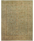 RugStudio presents Rugstudio Sample Sale 67507R Light Green Hand-Knotted, Good Quality Area Rug