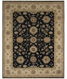 RugStudio presents Amer Oasis Siwa Black Hand-Knotted, Good Quality Area Rug