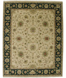 RugStudio presents Amer Oasis Kufra Beige Hand-Knotted, Good Quality Area Rug