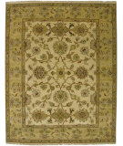 RugStudio presents Amer Oasis Gedi Beige Hand-Knotted, Good Quality Area Rug
