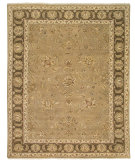 RugStudio presents Amer Oasis Loulan Light Brown Hand-Knotted, Good Quality Area Rug