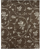 RugStudio presents Rugstudio Sample Sale 67598R Chocolate Hand-Knotted, Good Quality Area Rug