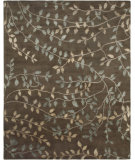 RugStudio presents Amer Synergy Kuba Chocolate Hand-Knotted, Good Quality Area Rug