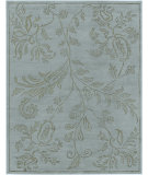 RugStudio presents Rugstudio Sample Sale 67602R Ice Blue Hand-Knotted, Good Quality Area Rug