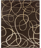 RugStudio presents Amer Synergy Xara Brown Hand-Knotted, Good Quality Area Rug