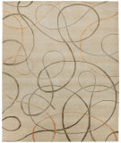 RugStudio presents Rugstudio Sample Sale 67605R Ivory Hand-Knotted, Good Quality Area Rug