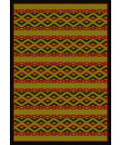 RugStudio presents American Dakota New Echota Basket Weave Brown Machine Woven, Good Quality Area Rug