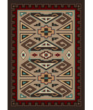 RugStudio presents American Dakota Voices Butte Brown Machine Woven, Good Quality Area Rug