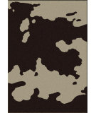 RugStudio presents American Dakota Motor Head Cowhide Chocolate Machine Woven, Good Quality Area Rug
