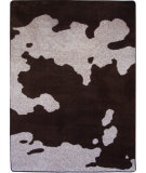 RugStudio presents American Dakota Motor Head Cowhide Brown Machine Woven, Good Quality Area Rug