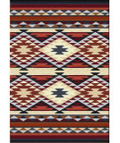 RugStudio presents American Dakota Voices Diamond Rio Rust/Multi Machine Woven, Good Quality Area Rug