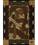 RugStudio presents American Dakota New Echota Hand Coiled Natural Machine Woven, Good Quality Area Rug