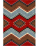 RugStudio presents American Dakota Trader Rugs Heritage Brown Machine Woven, Good Quality Area Rug