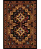 RugStudio presents American Dakota Voices High Rez Brown Machine Woven, Good Quality Area Rug