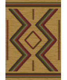 RugStudio presents American Dakota Voices Hour Glass Brown Machine Woven, Good Quality Area Rug