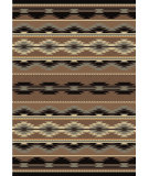RugStudio presents American Dakota Voices Medicine Brown Machine Woven, Good Quality Area Rug