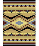 RugStudio presents American Dakota Voices Sallisaw Blue Machine Woven, Good Quality Area Rug