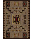 RugStudio presents American Dakota Voices Storm Catcher Brown Machine Woven, Good Quality Area Rug