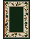 RugStudio presents American Dakota New Echota Three Sisters Green Machine Woven, Good Quality Area Rug