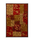 RugStudio presents American Rug Craftsmen Madison Patchwork Brocade Machine Woven, Good Quality Area Rug