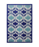 RugStudio presents American Rug Craftsmen Panoramic Hummingbird Cream Machine Woven, Good Quality Area Rug