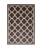 RugStudio presents American Rug Craftsmen Panoramic Parsonage Brown Machine Woven, Good Quality Area Rug